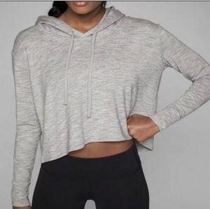 ATHLETA Coaster Crop pullover hoodie